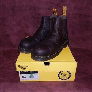 Dr. Martens Steel Toe Boots